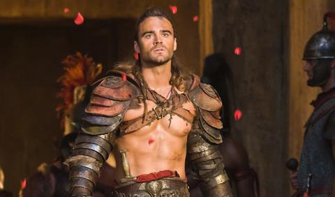 Gannicus in Spartacus