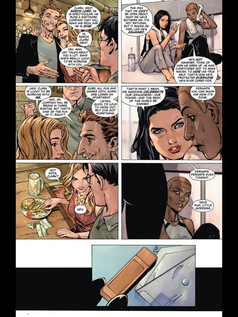 Wonder Woman and Hessia discuss Clark