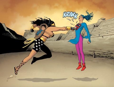 Diana's sword breaks