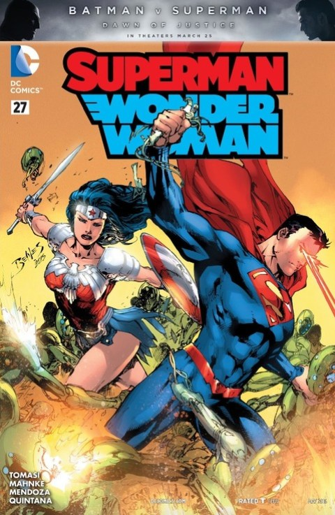Superman-Wonder Woman #27