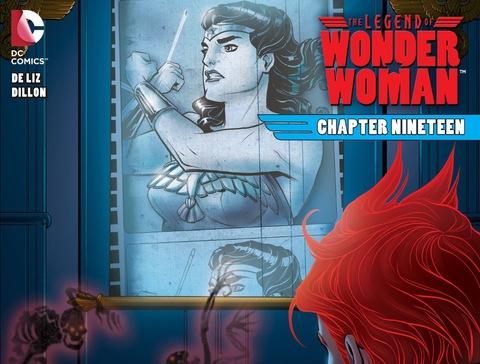 The Legend of Wonder Woman #19