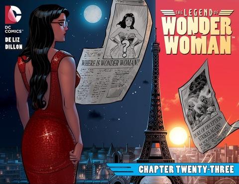 The Legend of Wonder Woman #23