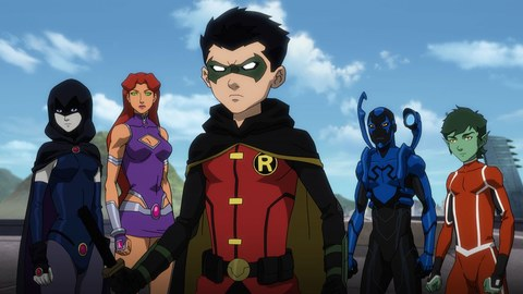 Justice League vs Teen Titans