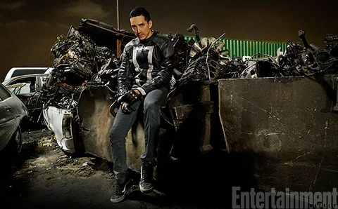 Gabriel Luna as Ghost Rider in Marvel's Agents of SHIELD