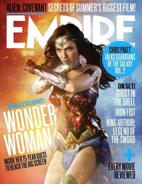 The Empire Wonder Woman front cover