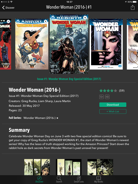 Special Edition Wonder Woman #1