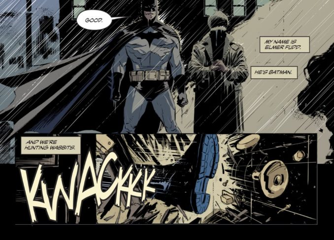 Elmer Fudd and Batman