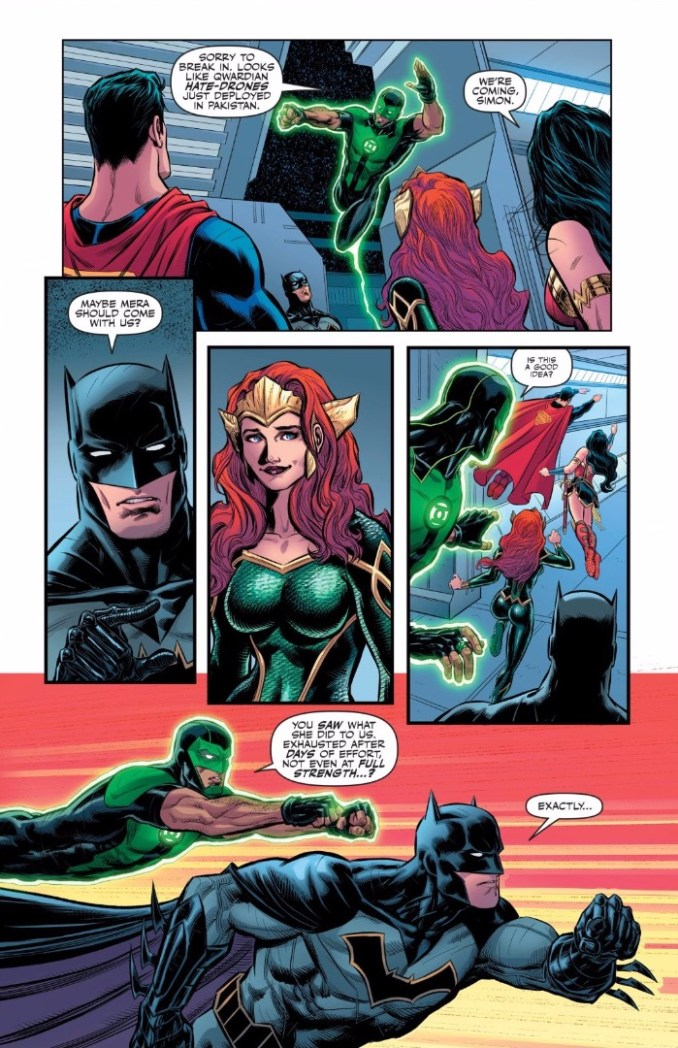 A new home for Mera?