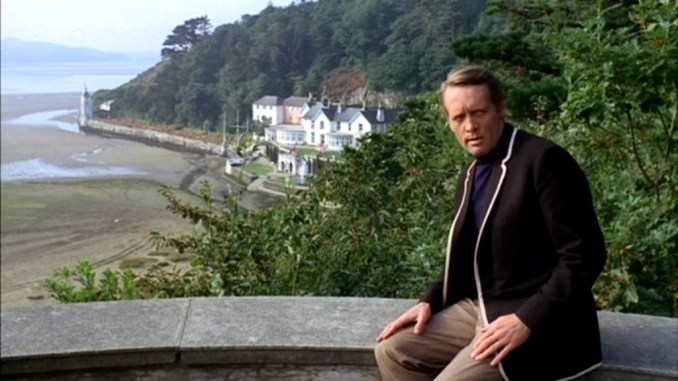 Patrick McGoohan as The Prisoner in Portmeirion