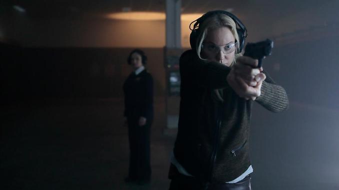 Sofia Helin in season 4 of Bron/Broen (The Bridge)