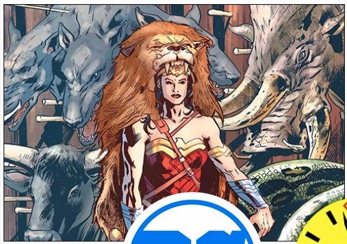 Diana wears a lion