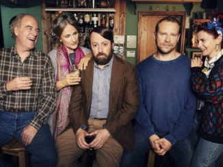 David Mitchell and Robert Webb in Channel 4's Back