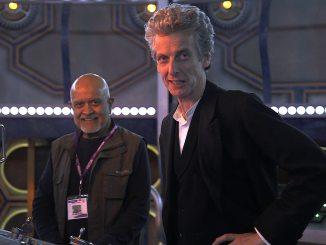 Waris Hussein with Peter Capaldi