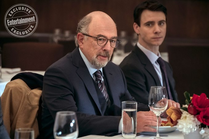Richard Schiff and Harry Lloyd in Counterpart