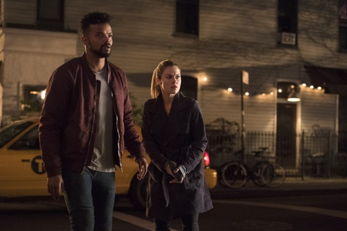 Eka Darville and Rachael Taylor
