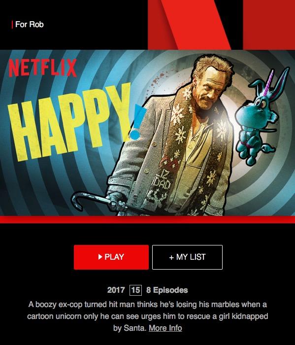 Netflix Happy