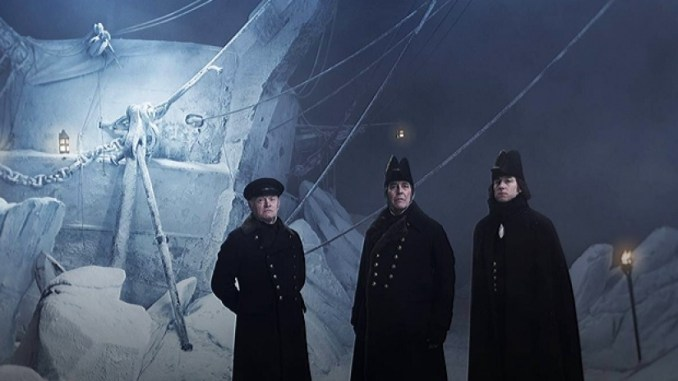 The cast of The Terror