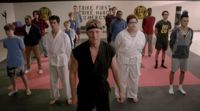 The Cobra Kai dojo