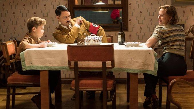 Taika Waititi and Scarlett Johansson in WW2 satire Jojo Rabbit