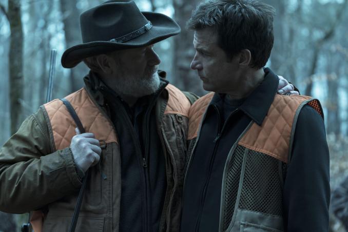 Peter Mullan and Jason Bateman in Ozark