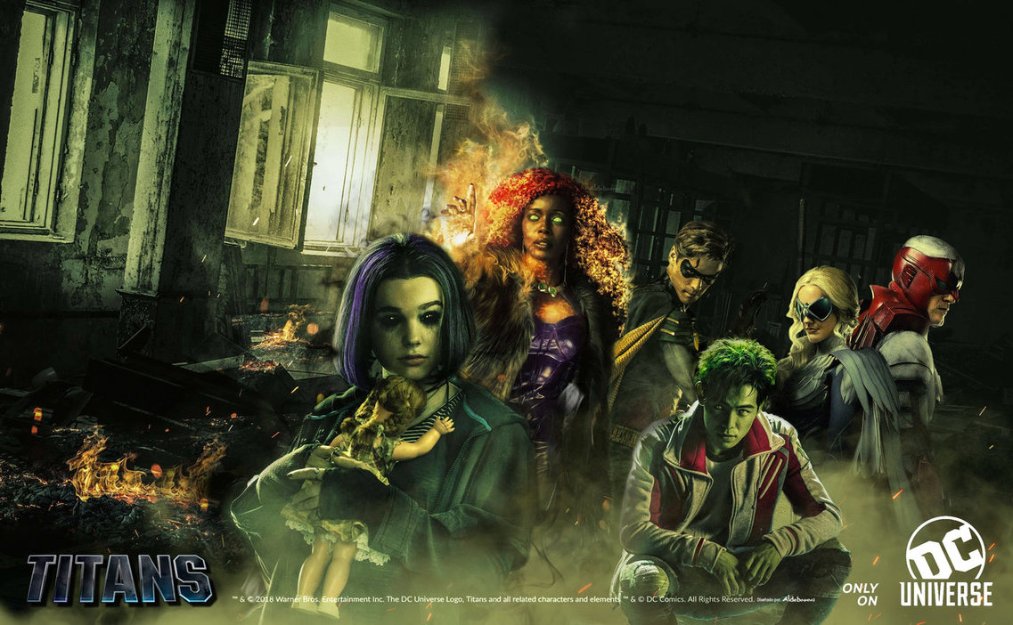 Review: Titans 1x1 (US: DC Universe; UK: Netflix)