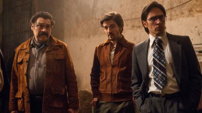 Joaquín Cosío, Diego Luna, Horacio Garcia Rojas in Narcos: Mexico © Carlos Somonte/Netflix