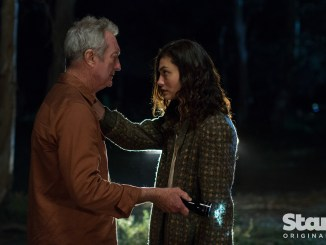 Bryan Brown and Phoebe Tonkin in Bloom