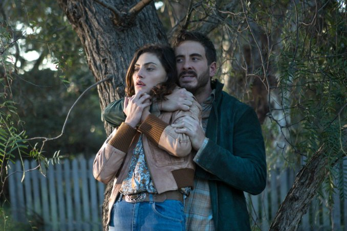 Phoebe Tonkin and Ryan Corr in Bloom