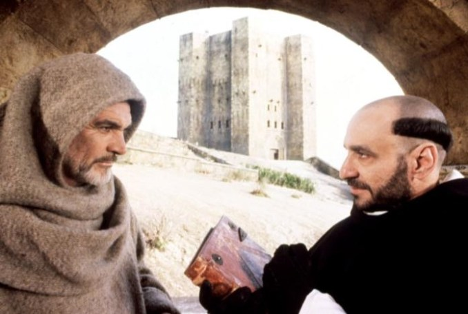 Sean Connery and F Murray Abraham in The Name of the Rose
