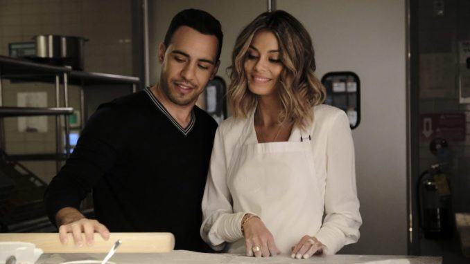 Victor Rasuk and Nathalie Kelley in ABC's The Baker and the Beauty