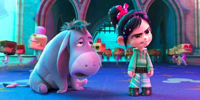 Eeyore in Wreck It Ralph