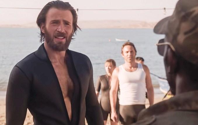 Chris Evans in The Red Sea Diving Resort