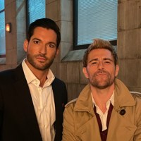 Yes, Tom Ellis' Lucifer did show up in this year's DC Arrowverse crossover