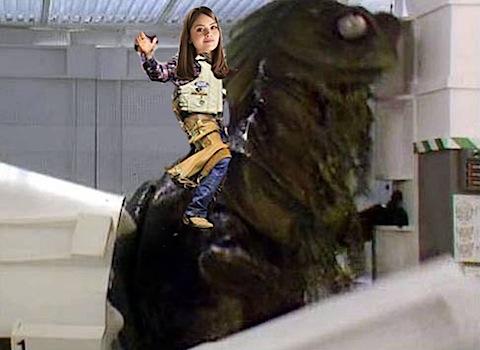 Clara in Warriors of the Deep