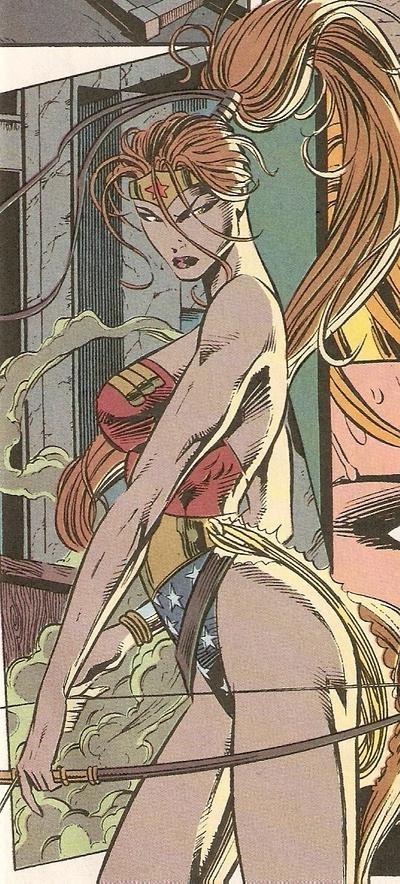 Artemis as Wonder Woman