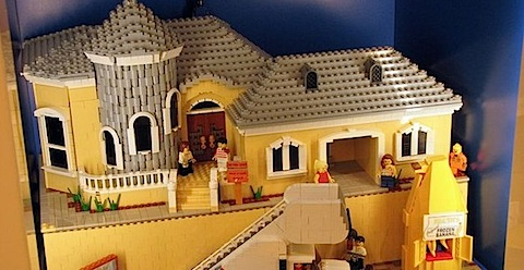 The Arrested Development Lego house