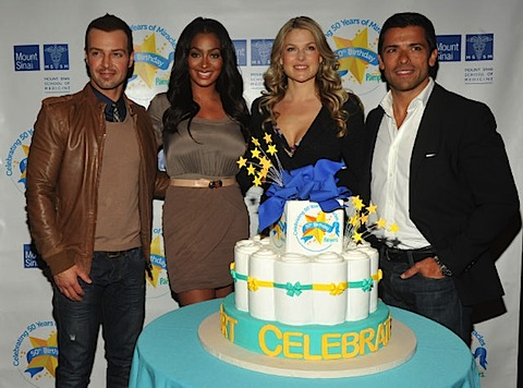 Ali at the Pampers launch