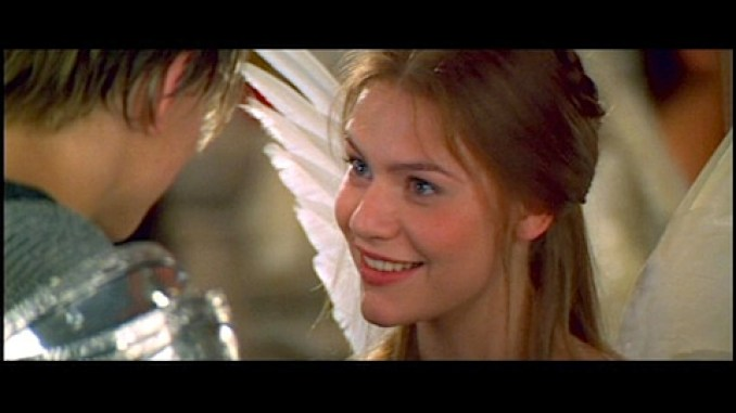 Claire Danes in Romeo and Juliet