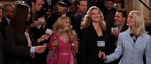 Ali Larter in Legally Blonde