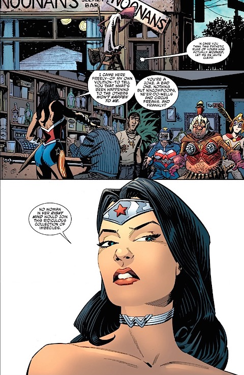 Wonder Woman won't join the team