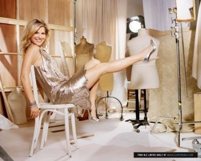 Ali Larter Putting Her Feet Up