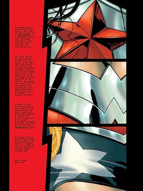 Batwoman eyes up Wonder Woman