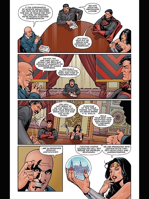 Red Son Wonder Woman is in charge