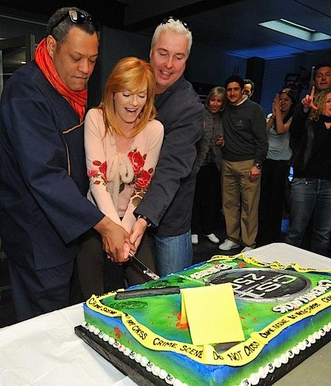 250 episodes of CSI party