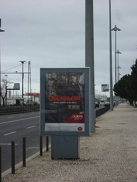 Chicago Fire in Lisbon