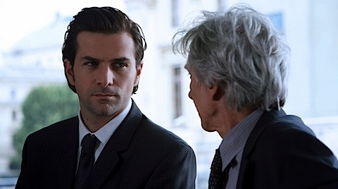 Clement and the judge in Engrenages