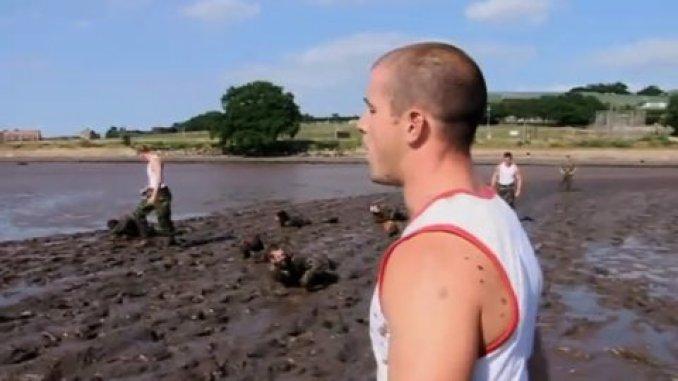 Commandos in the mud