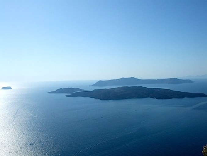Santorini's Caldera