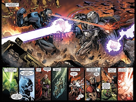 Darkseid versus the Anti-Monitor