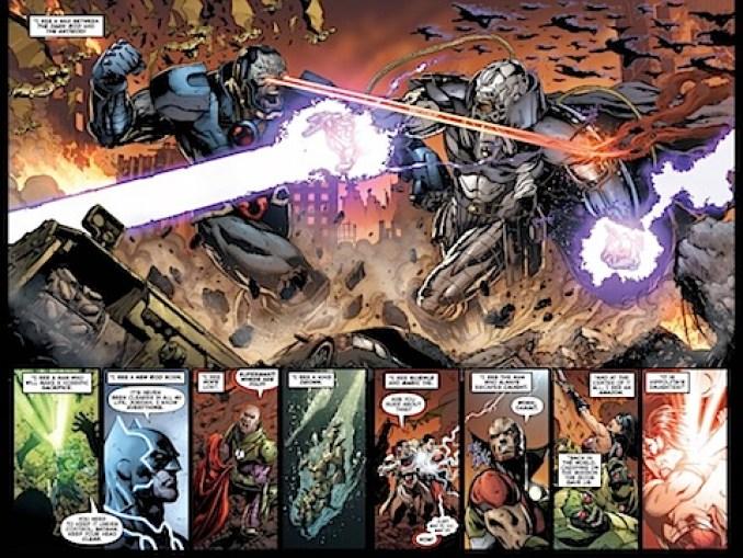 Darkseid versus the Anti-Monitor